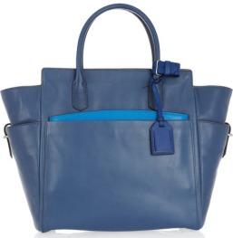 Reed-Krakoff-Leather-Tote-Blue