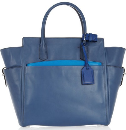 Reed-Krakoff-Leather-Tote-Blue