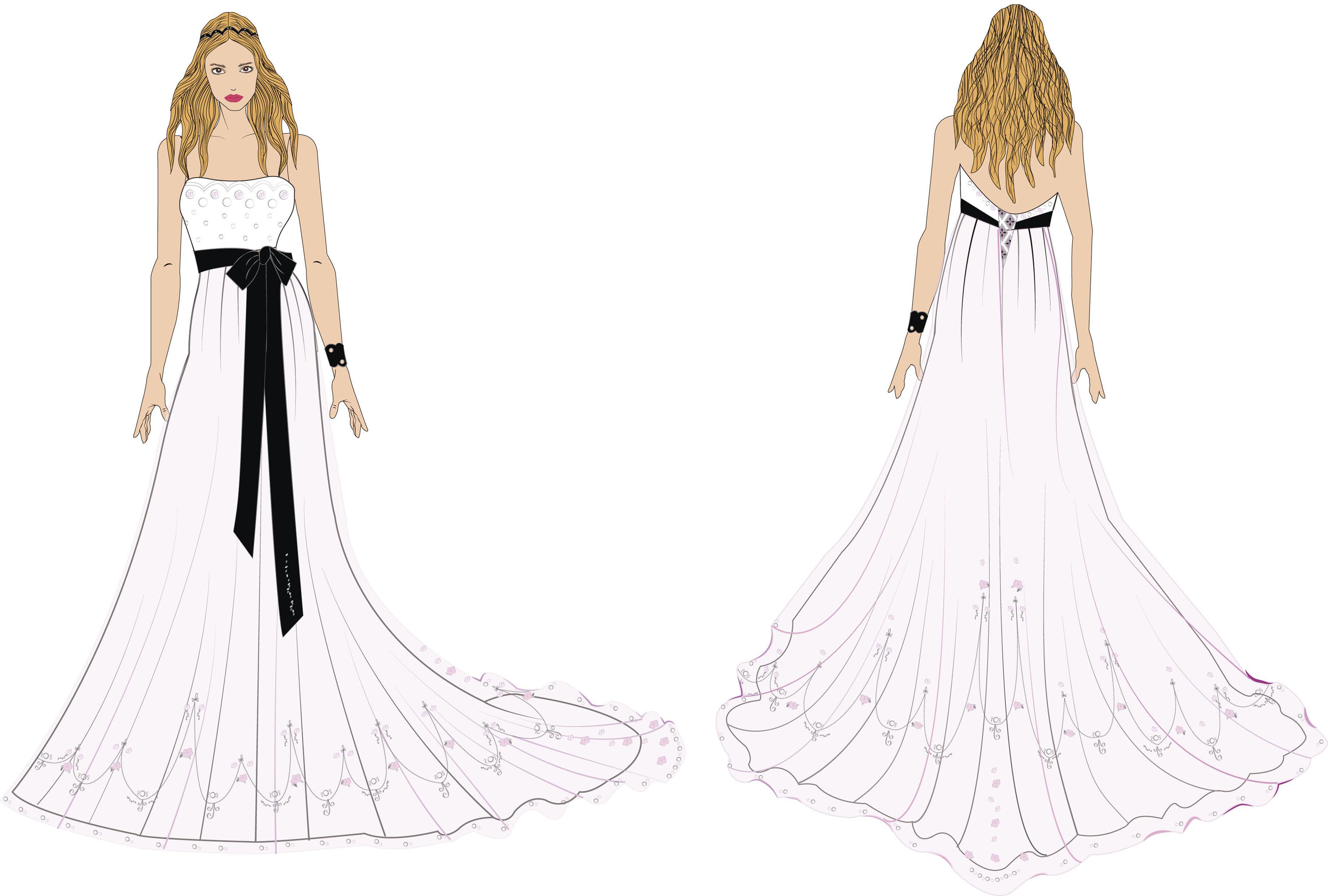Figurines vestidos de novia