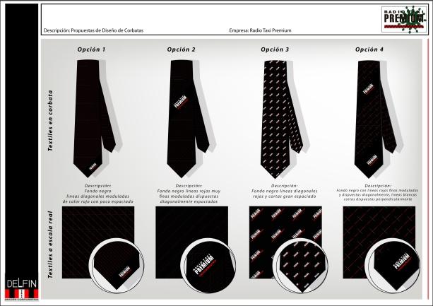 corbatas 2 con logo blanco